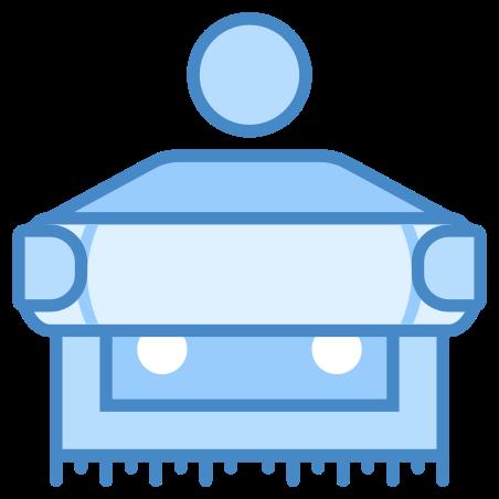 Carpet Man icon in Blue UI