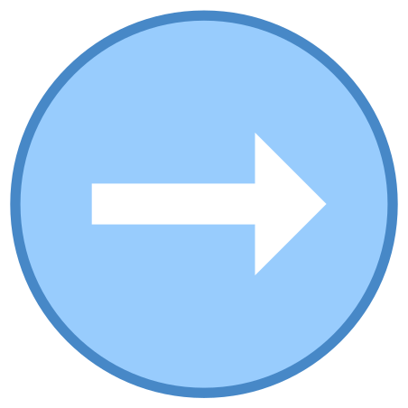 Circled Right icon