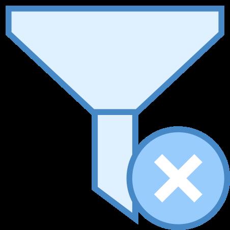 클리어 필터 icon