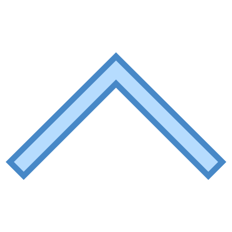 Collapse Arrow icon in Blue UI