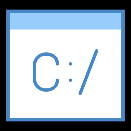 Linha de comando icon