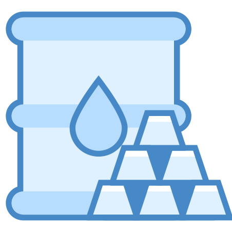 Commodity icon in Blue UI