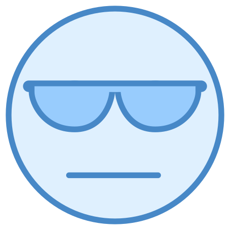 Cool icon in Blue UI