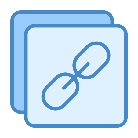Copy Link icon in Blue UI