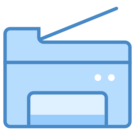 Copy Machine icon in Blue UI
