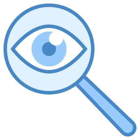 Detective icon in Blue UI