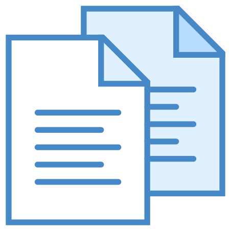 Documents icon in Blue UI