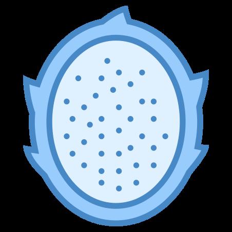 Dragon Fruit icon in Blue UI