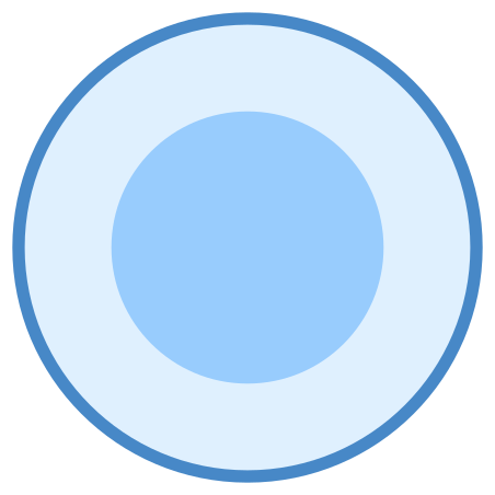 Final State icon in Blue UI