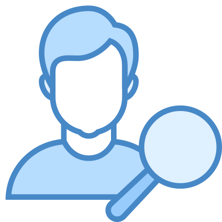 Find User Male icon