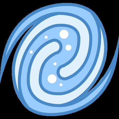 Galaxy icon in Blue UI