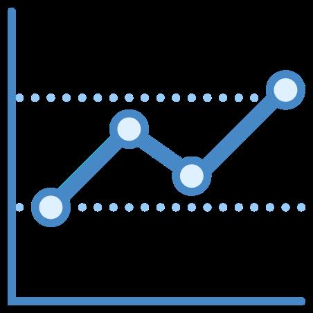 Graph icon in Blue UI