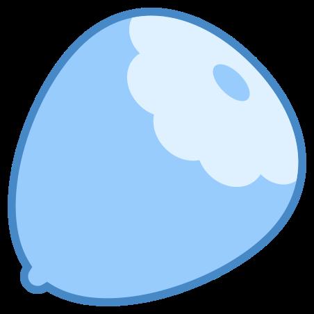 Hazelnut icon in Blue UI