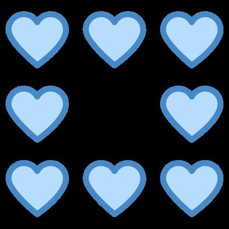 심장 테두리 icon