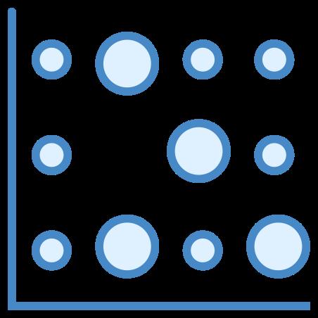 Heat Map icon in Blue UI