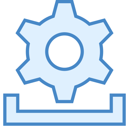Installing Updates icon in Blue UI