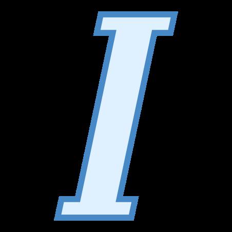 이탤릭체 icon