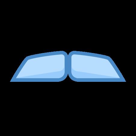 전등 갓 콧수염 icon