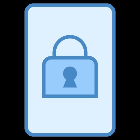 Lock Portrait icon