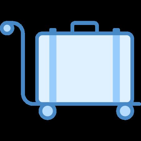 Luggage Trolley icon