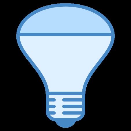 Ampoule réflecteur à tête miroir icon