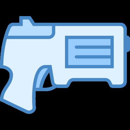 NERF Gun icon in Blue UI