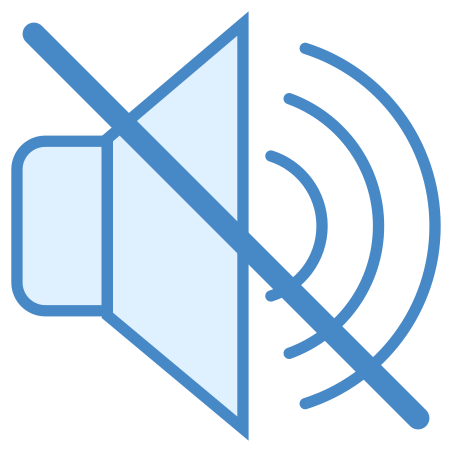 No Audio icon