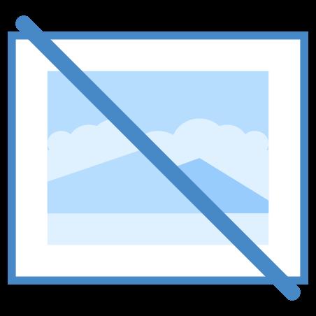 No Image icon in Blue UI