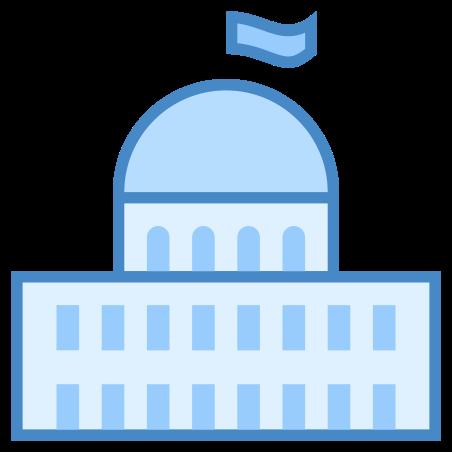 Parliament icon in Blue UI