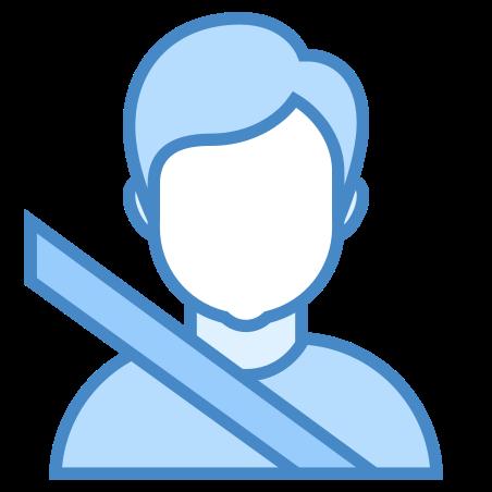 Passenger icon in Blue UI
