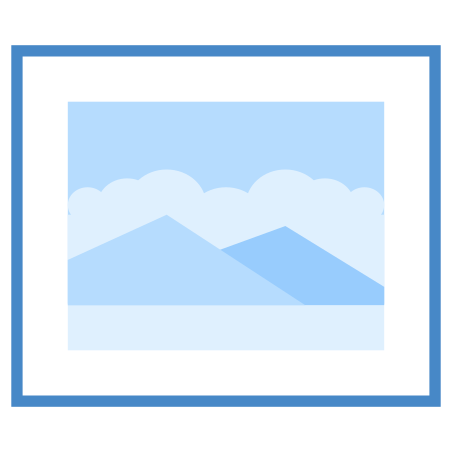 Picture icon in Blue UI