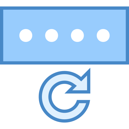 Password Reset Icon - Free Download, PNG and Vector