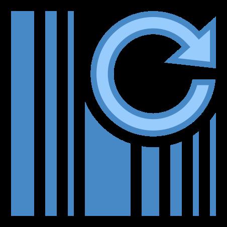 Refresh Barcode icon
