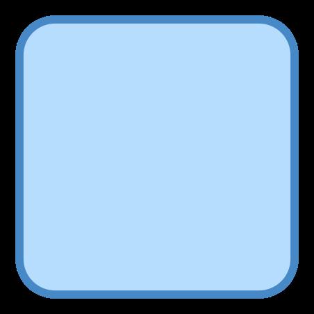 둥근 사각 icon