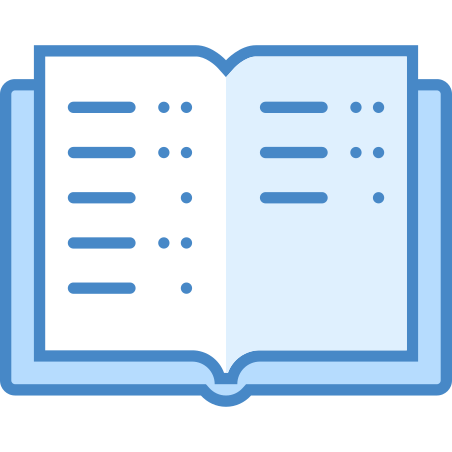 Study icon in Blue UI