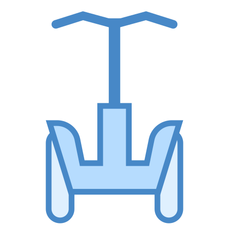 Segway icon in Blue UI