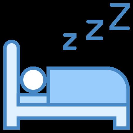 침대에서 자 icon