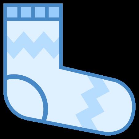 Socks icon in Blue UI
