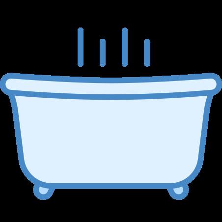 Spa icon in Blue UI