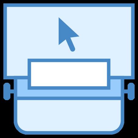 화면으로 타자기 icon