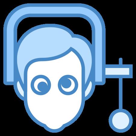 Under Pressure Male icon in Blue UI