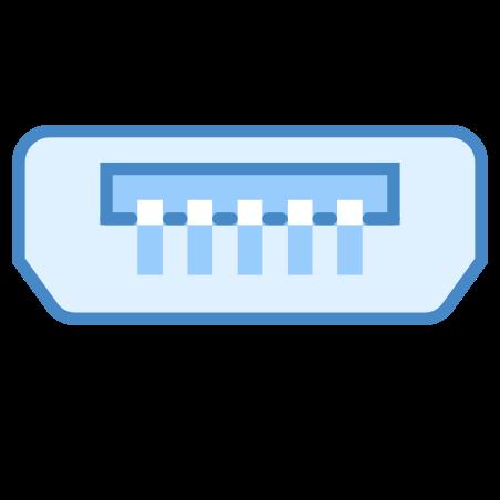 의 USB 마이크로 B icon