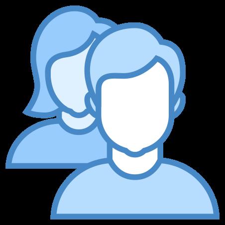 Team icon in Blue UI