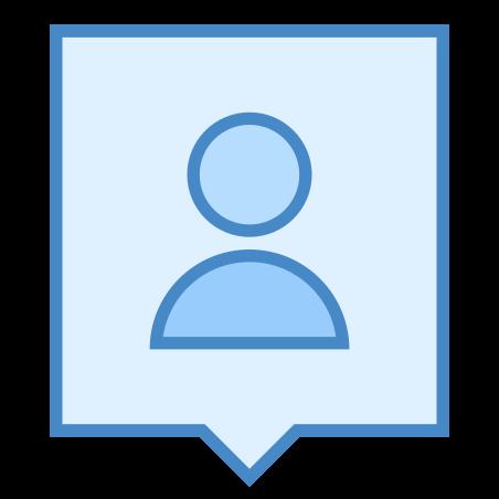 User Location icon in Blue UI