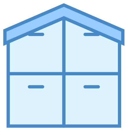 Warehouse icon in Blue UI