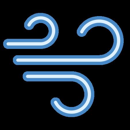 Wind icon in Blue UI