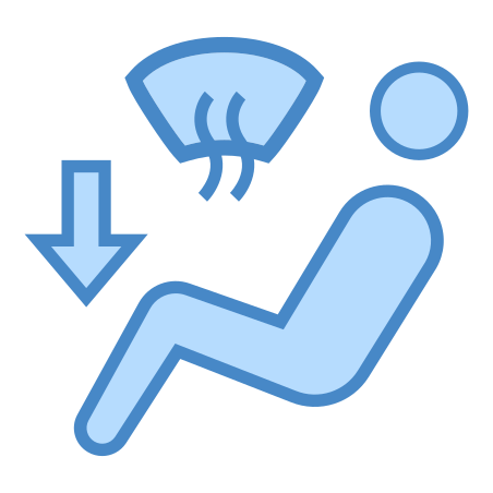 Windshield Defroster and Foot Outlet icon