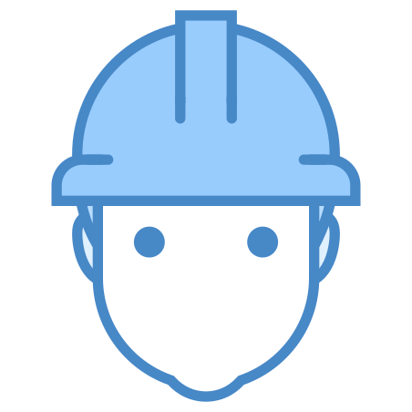Worker icon in Blue UI