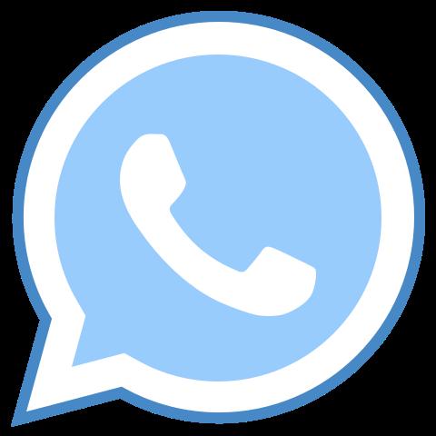 Ícone de Whatsapp no estilo Blue UI