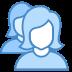 Benutzergruppe Frau Frau icon